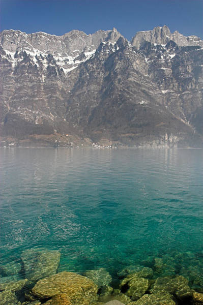 Photograph - Blue Swiss Lagoon by Pierre Leclerc Photography