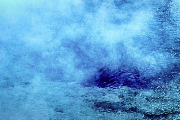 Photograph - Blue Thermal Pool - Yellowstone by Stuart Litoff