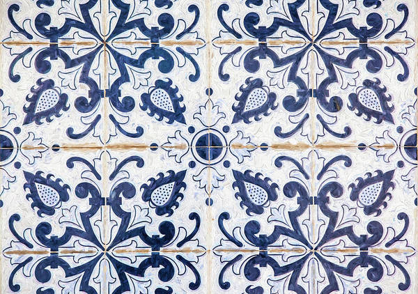 Painting - Blue Tile Of Portugal by David Letts