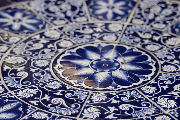 Photograph - Blue Tiles In Little Havana by Carol Groenen