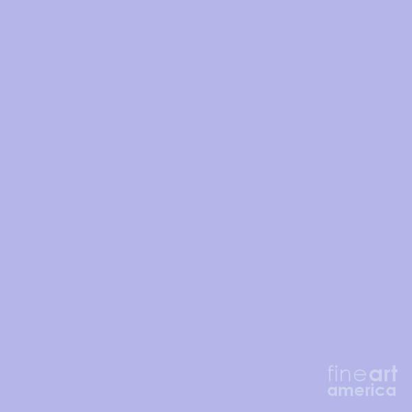 Photograph - Blue Ultra Soft Lavender Colour Palette by Sharon Mau