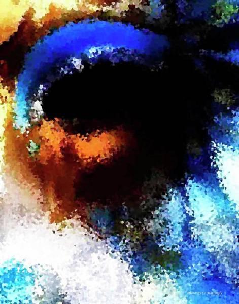 Blue Venice Mask Art Print