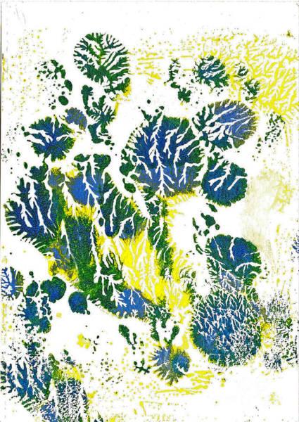 Painting - Blue Vision 2 by Asha Sudhaker Shenoy