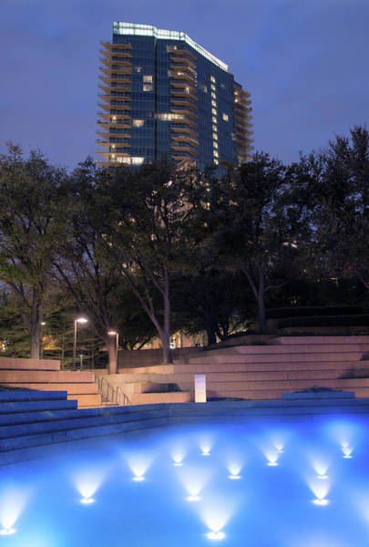 Photograph - Blue Water Gardens 041018 by Rospotte Photography