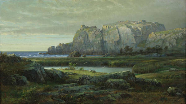 Wall Art - Painting - Blue Waters by William Trost Richards