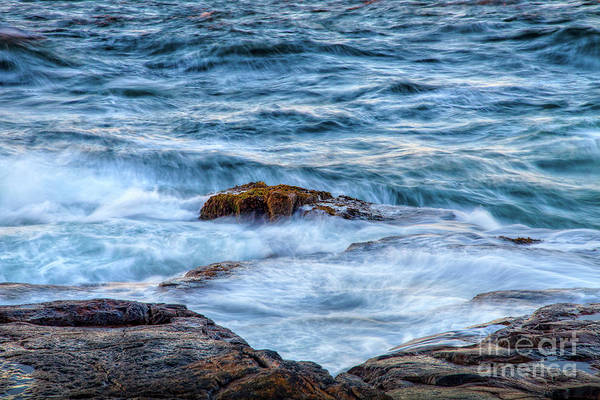 Wall Art - Photograph - Blue Waves by Susan Cole Kelly
