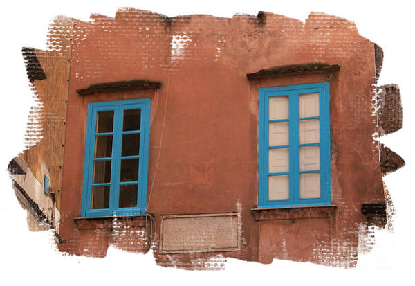 Wall Art - Photograph - Blue Windows by Jim Wright