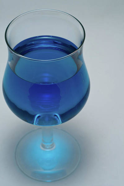Photograph - Blue Wine by James Reed