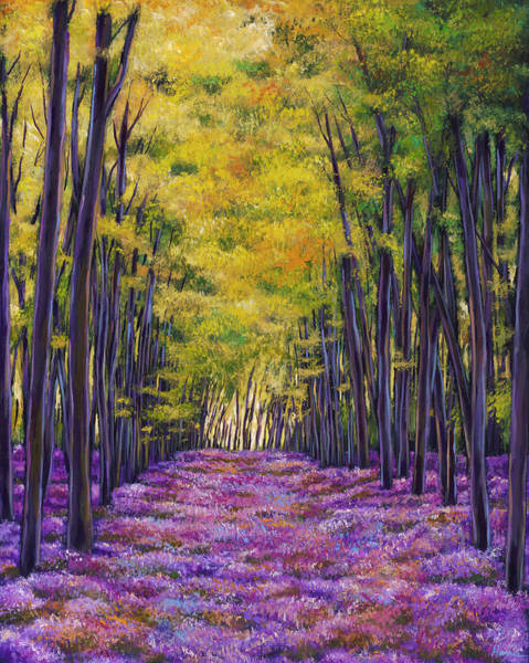 Wall Art - Painting - Bluebell Expanse by Johnathan Harris
