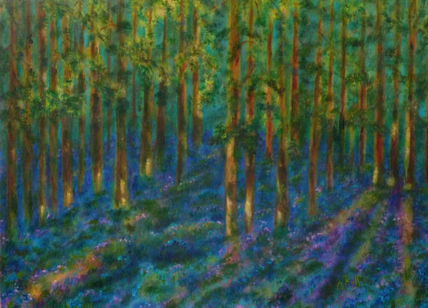 Painting - Bluebells by Claire Bull