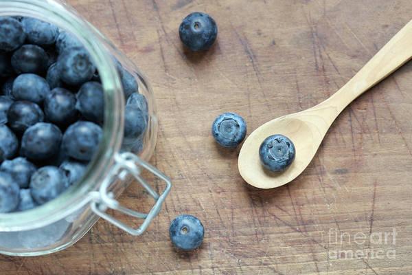 Bilberry Photograph - Blueberries by Jana Behr