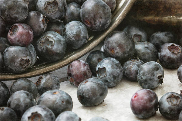 Photograph - Blueberries by Teresa Wilson