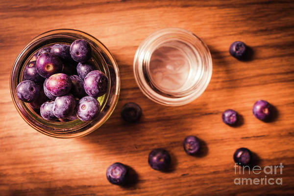 Bilberry Photograph - Blueberry Kitchen Still Life by Jorgo Photography - Wall Art Gallery