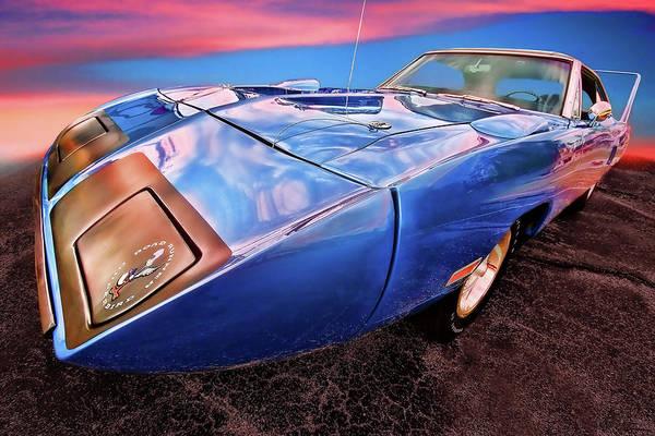 Plymouth Superbird Photograph - Bluebird - 1970 Plymouth Road Runner Superbird by Gordon Dean II