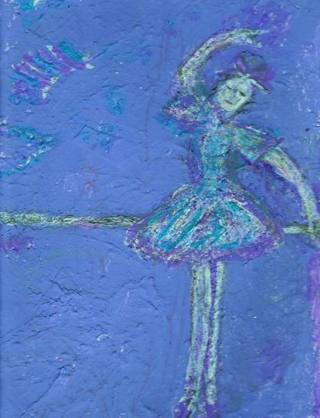 Practice Mixed Media - Bluedream by Anne-Elizabeth Whiteway