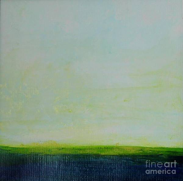 Painting - Bluegreen by Kim Nelson
