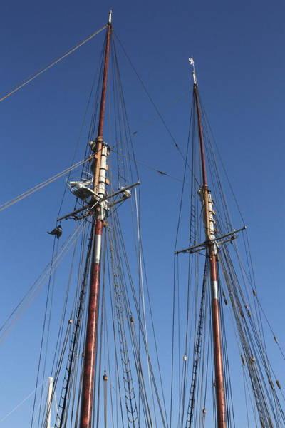 Photograph - Bluenose 2 Masts by David Matthews