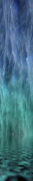 Wall Art - Digital Art - Bluepanel 10 by WB Johnston