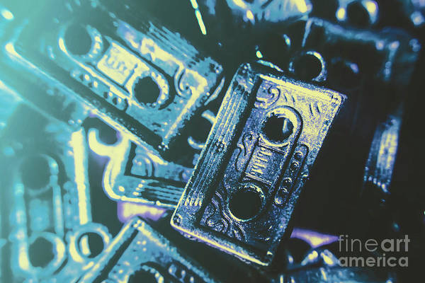 Recording Photograph - Blues On Cassette by Jorgo Photography - Wall Art Gallery