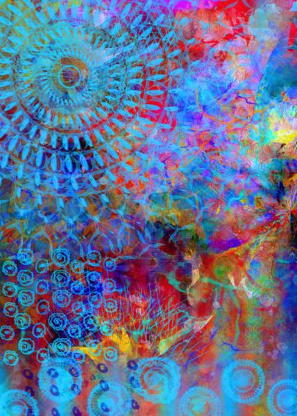 Sunshine Digital Art - Blueshine by Moon Stumpp