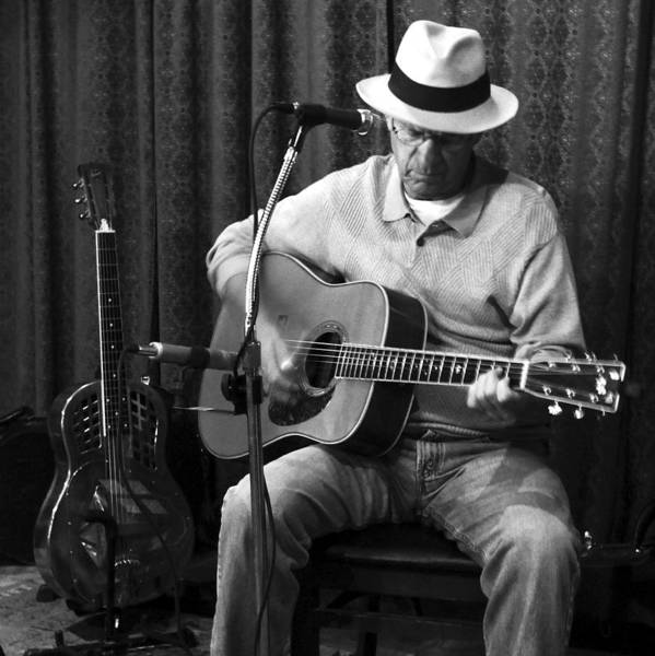 Photograph - Bluesman With A Martin And A National by Rosanne Licciardi