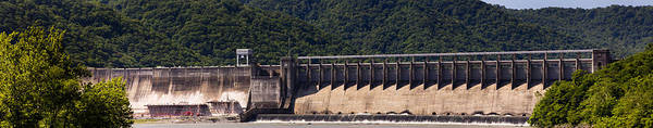 Wall Art - Photograph - Bluestone West Virginia Dam Panorama by Teresa Mucha