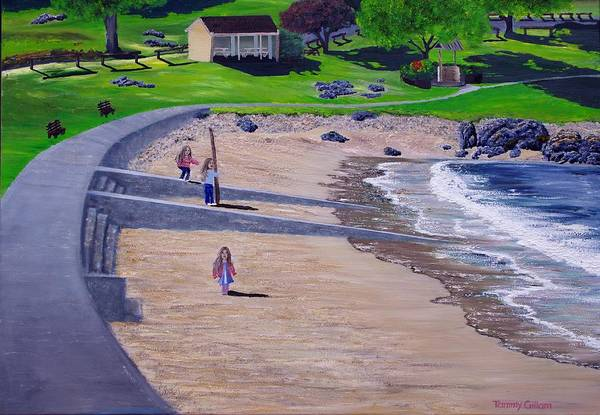 Devonport Wall Art - Painting - Bluff Devonport by Tammy Gillam