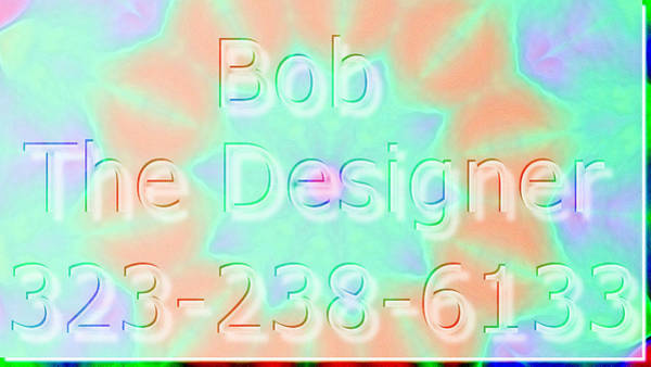 Robbie Digital Art - Bluff Road Web And Graphic Design 323-238-6133 by Robbie Commerce