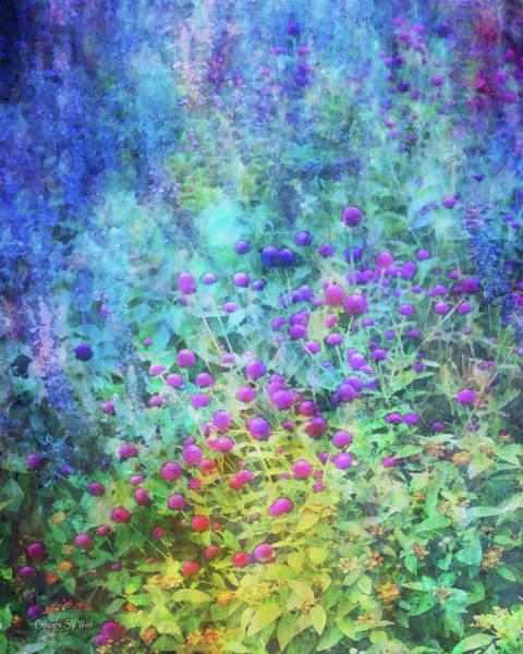 Photograph - Blurred Garden 4798 Idp_2 by Steven Ward