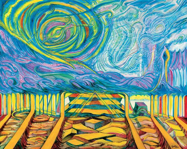 Painting - Blushadort by Yom Tov Blumenthal