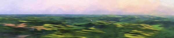 Farming Digital Art - Blushing Sky II by Jon Glaser