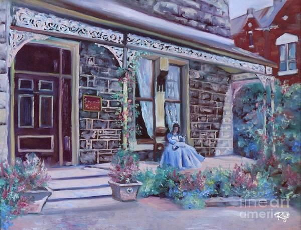Painting - Blythewood Grange Ballarat by Ryn Shell