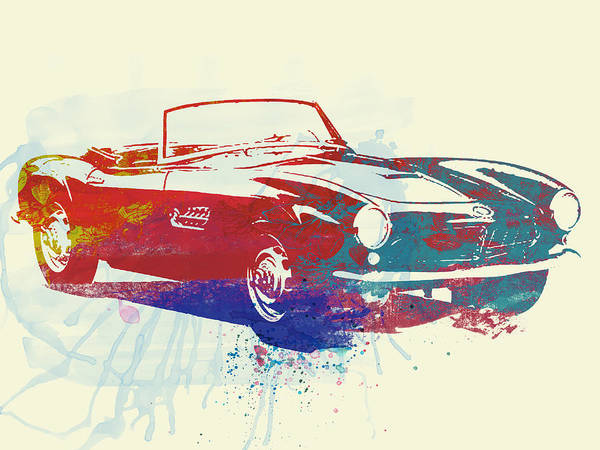 Classic Car Photograph - Bmw 507 by Naxart Studio