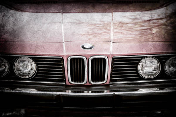 Photograph - Bmw 635csi Grille -1733ac by Jill Reger