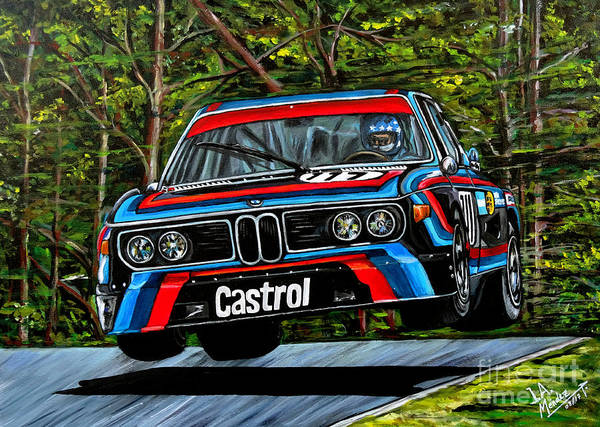 0 Painting - Bmw Cls 3.0 by Jose Mendez