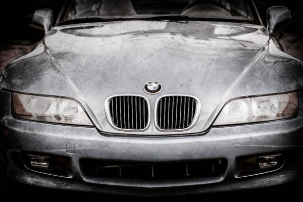 Photograph - Bmw Grille -1119ac by Jill Reger
