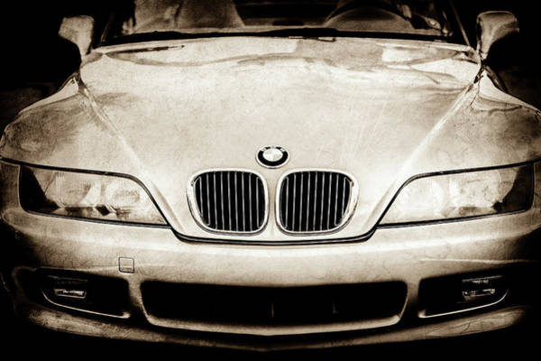 Photograph - Bmw Grille -1119s by Jill Reger