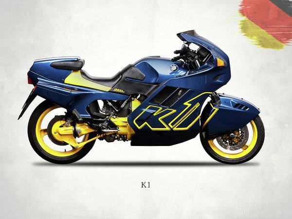 Photograph - The K1 Motorcycle by Mark Rogan