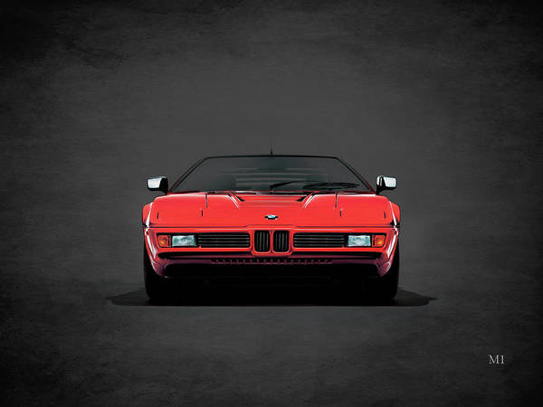 Super Cars Photograph - Bmw M1 1979 by Mark Rogan