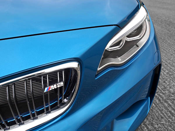 Wall Art - Photograph - Bmw M2 Grille by Gill Billington