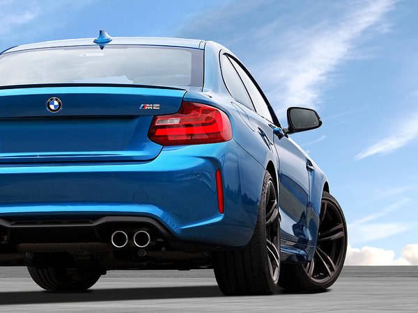 Wall Art - Photograph - Bmw M2 Rear by Gill Billington