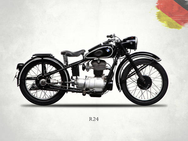 Photograph - The R24 Motorcycle by Mark Rogan