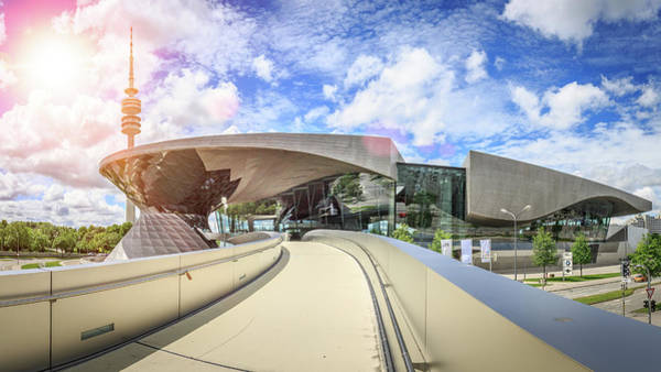Photograph - Bmw World by Alexander Mayr