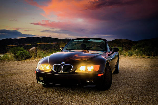 Photograph - Bmw Z3 by TL Mair