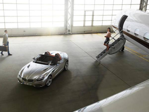 Sports Digital Art - Bmw Zagato Roadster by Maye Loeser
