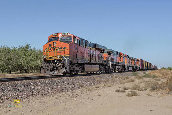 Photograph - Bnsf7890 by Jim Thompson