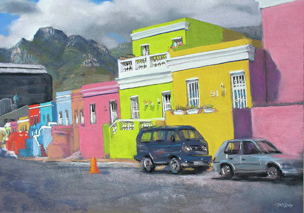 Painting - Bo Kaap by Christopher Reid