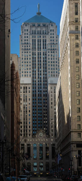 Wall Art - Photograph - Board Of Trade Chicago Morn by Steve Gadomski