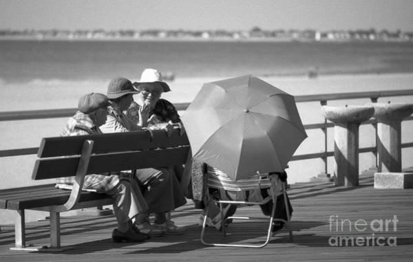 Photograph - Boardwalk 1 by Jeff Breiman