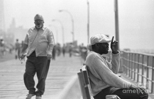 Photograph - Boardwalk 2 by Jeff Breiman